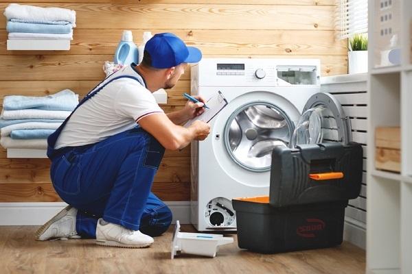 máy giặt bị nhảy thời gian