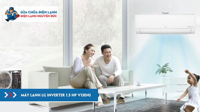 máy-lạnh-LG-Inverter-1.5-HP-V13ENS-dienlanhnguyenduc